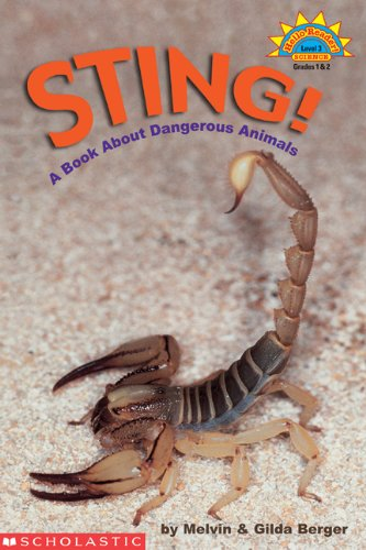 9780439334099: Sting: A Book About Dangerous Animals (Hello Reader Science Level 3)