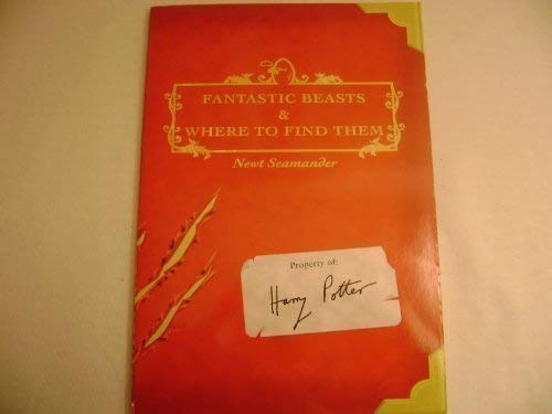 9780439334631: Fantastic Beasts & Where to Find Them (Property of Harry Potter)
