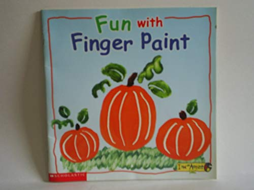 Fun with finger paint (I am an artist club): Deborah Schecter
