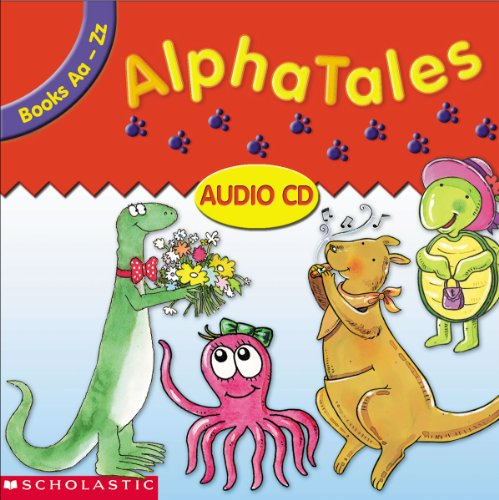 9780439344098: AlphaTales Audio CD: Double CD Set With All 26 Stories and Cheers!