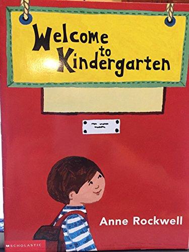 9780439352574: Welcome to Kindergarten