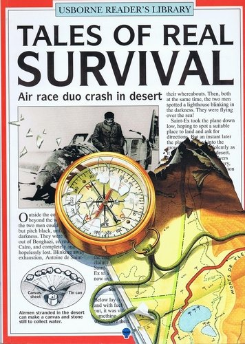 9780439353298: Tales of real survival (Usborne reader's library)