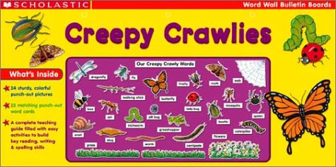 9780439353823: Creepy Crawlies: Creepy Crawlies Prepack (Scholastic Word Wall Bulletin Boards)