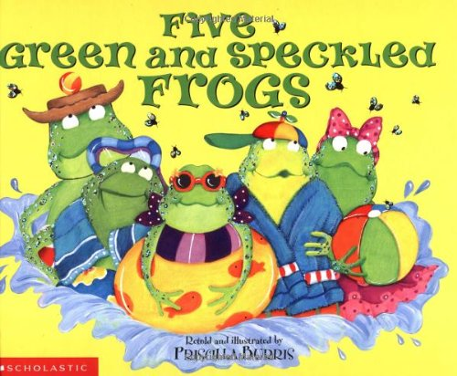 9780439354899: Five Green And Speckled Frogs