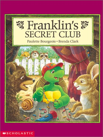9780439355001: Franklin's Secret Club
