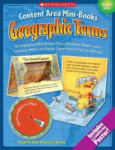 9780439355278: Content Area Mini-Books: Geographic Terms: 15 Engaging Mini-Books That Students Read-and Interact With-to Really Learn About Key Landforms