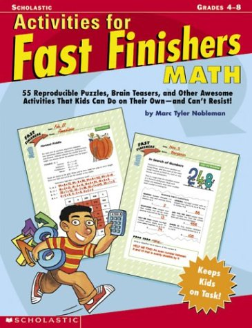 9780439355322: Activities For Fast Finishers: Math
