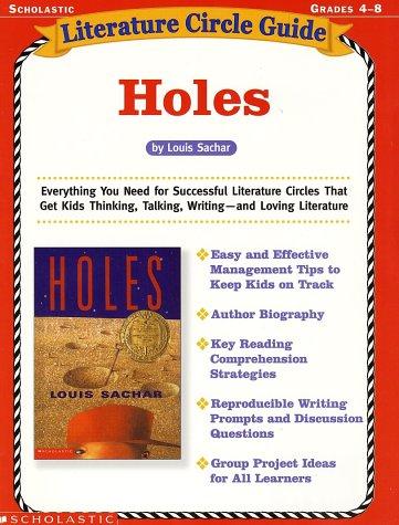 Literature Circle Guide: Holes, Grades 4-8: Singer, Tonya Ward