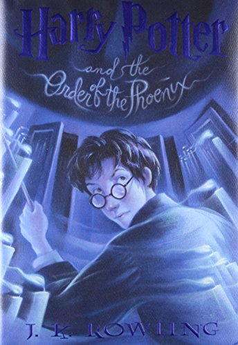HARRY POTTER AND THE ORDER OF THE PHOENIX (2003 FIRST AMERICAN PRINTING)