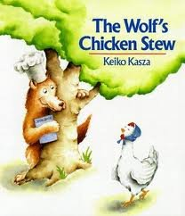 The wolf's chicken stew (0439365643) by Keiko Kasza