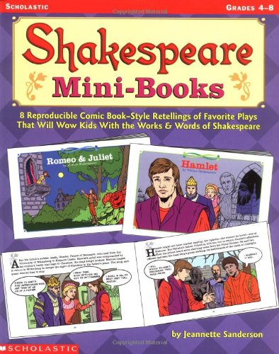 9780439366014: Shakespeare Mini-books