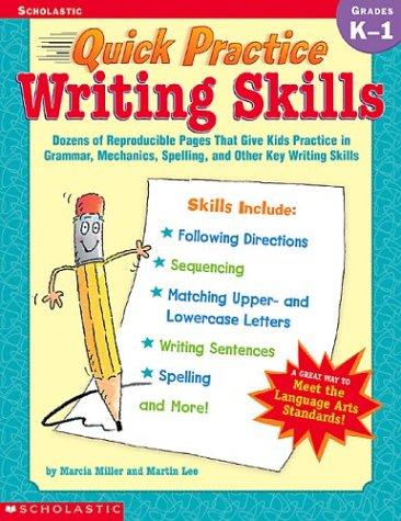 9780439370745: Quick Practice Writing Skills