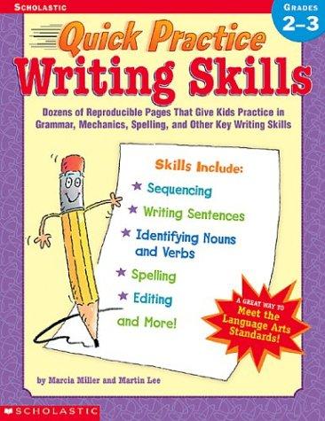 9780439370752: Quick Practice Writing Skills