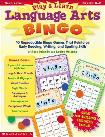 Play & Learn Language Arts Bingo: Orlando, Louise, Orlando,