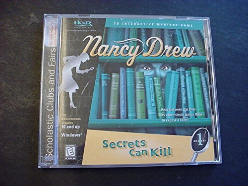 9780439372015: Nancy Drew; Secrets Can Kill, Mystery One / A 3-D Interactive Mystery Game (Computer Game, Windows 95/98/ME/2000)