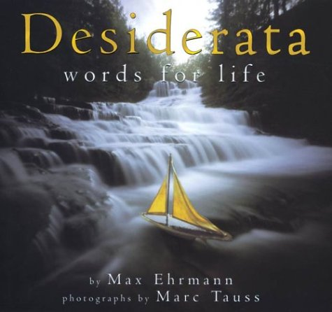 9780439372930: Desiderata: Words for Life