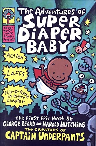 9780439376051: The Adventures of Super Diaper Baby