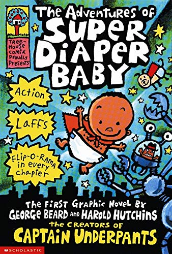 9780439376068: The Adventures of Super Diaper Baby