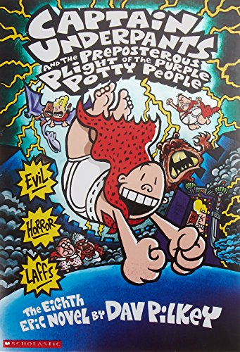 9780439376143: Captain Underpants And The Preposterous Plight Of The Purple Potty People