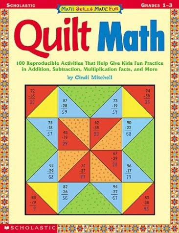 9780439376624: Math Skills Made Fun/ Quilt Math