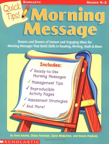 9780439376679: Quick Tips!: Morning Message