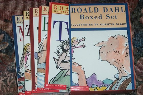 9780439378895: Roald Dahl 6-Book Boxed Set: The Witches, George's Marvelous Medicine, The Twits, Esio Trot, Matilda, The BFG
