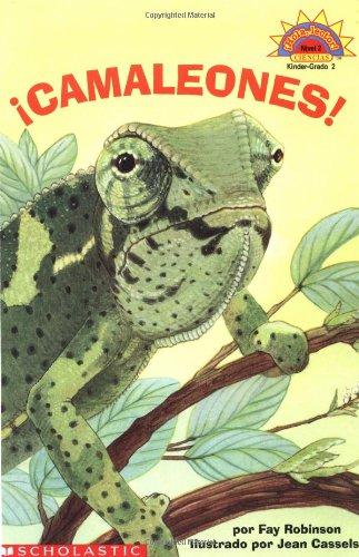 9780439379694: Camaleones!/Cool Chameleons! (Hola, Lector!, Ciencias. Nivel 2.)
