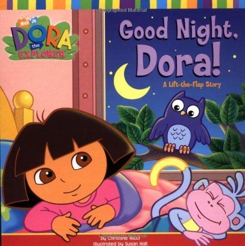 9780439379823: Good Night Dora! a Lift the Flap Story