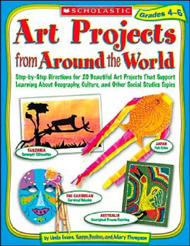 9780439385329: Art Projects from Around the World: Grades 4-6