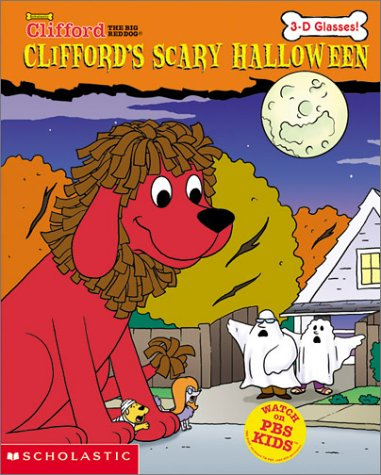 9780439394536: Clifford's Scary Halloween (3-d Glasses)