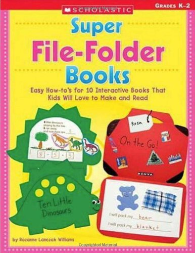 9780439395021: Super File-Folder Books: Easy How-to's for 10 Interactive Books That Kids Will Love to Make and Read