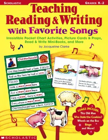 9780439395120: Teaching Reading & Writing With Favorite Songs