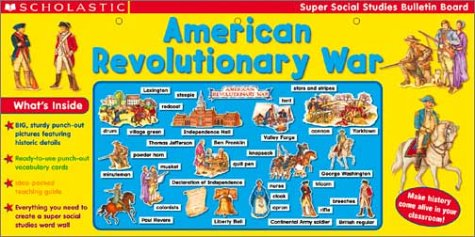 9780439396004: American Revolutionary War (Super Social Studies Bulletin Board Set)