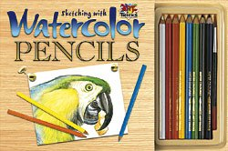 Sketching with watercolor pencils: Nye, Jody Lynn