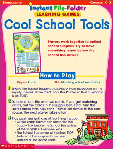 9780439400909: Cool School Tools (Instant File-Folder Learning Games)