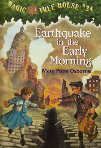 9780439403122: Magic Tree House #24: Earthquake in the Early Morning