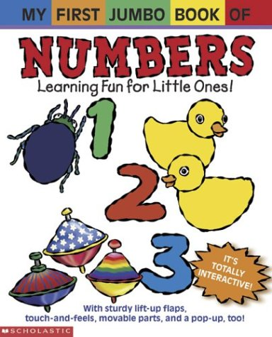 9780439403535: My First Jumbo Book Of Numbers