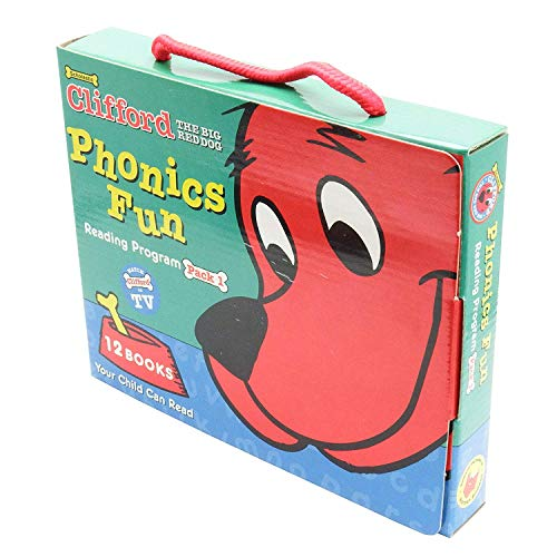 9780439403825: Clifford's Phonics Fun Boxed Set #1
