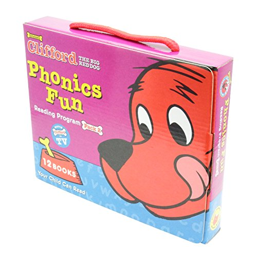 9780439403832: Clifford's Phonics Fun Box Set #2