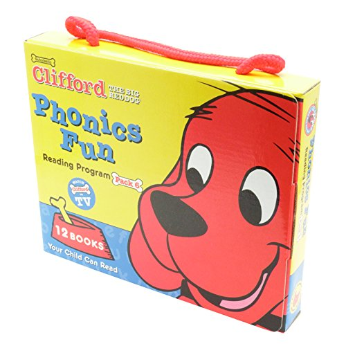 9780439405201: Clifford's Phonics Fun Box Set #6