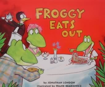 9780439405461: Froggy Eats Out