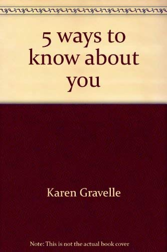 9780439417792: 5 ways to know about you