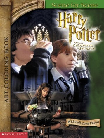 9780439418980: Harry Potter and the Chamber of Secrets Art Coloring Book: Scene for Scene : With Full-Color Photos