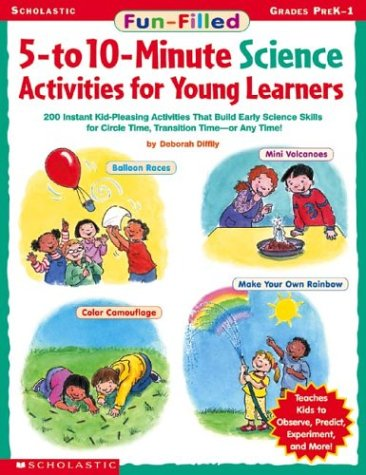 9780439420563: Fun-filled 5- To 10-minute Science Activities For Young Learners