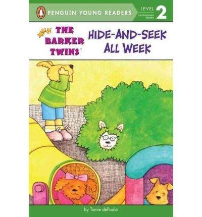 9780439424127: Hide-And-Seek All Week (Barkers)