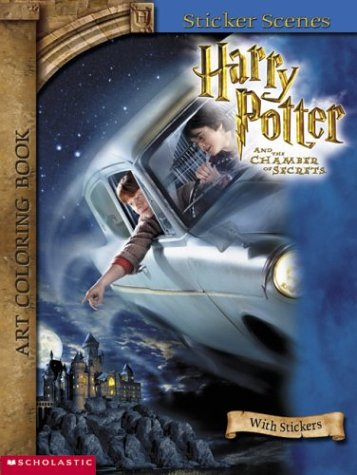 9780439425261: Harry Potter Art Coloring Book #2