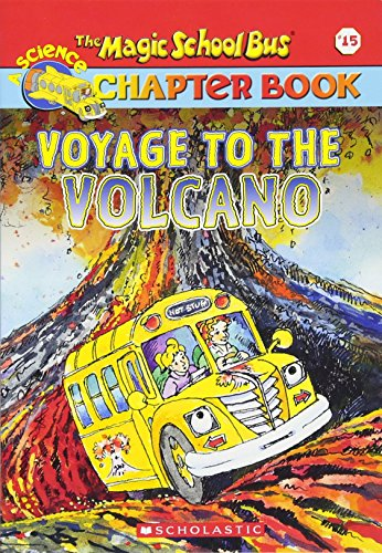 9780439429351: The Magic School Bus Science Chapter Book #15: Voyage to the Volcano
