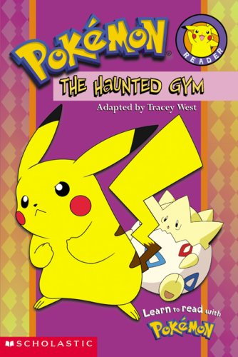 Pokemon, The Haunted Gym (Pokemon, Reader) 9780439429887 A full-color, easy-to-read format featuring one of the most popular characters all time-Pikachu-in a spooky Halloween story! Scared silly! Pikachu and Ash are ready for a big battle. They're going to fight in a real Pokemon gym. But there are spooky noises! Are there Ghost Pokemon in the gym? Uh-oh! How will Pikahcu and its friends get out?