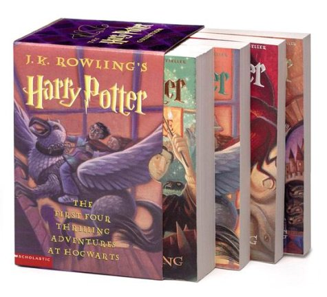 Harry Potter Boxset 1-4: Rowling, J. K.