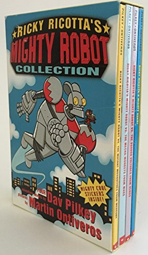 9780439435222: Ricky Ricotta's Mighty Robot Collection (Books 1-4)